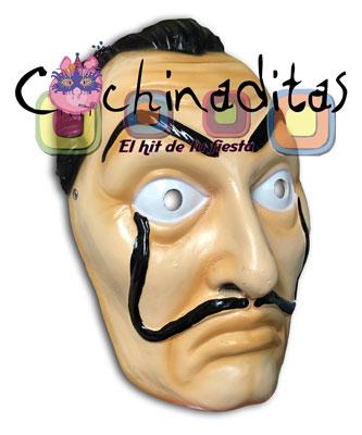 Máscara Dalí Resina