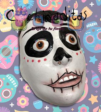 Máscara niño catrín gde