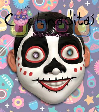 """Máscara """"Niño Catrín"""""""