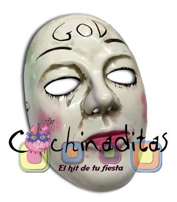 "Máscara Purga ""God"""