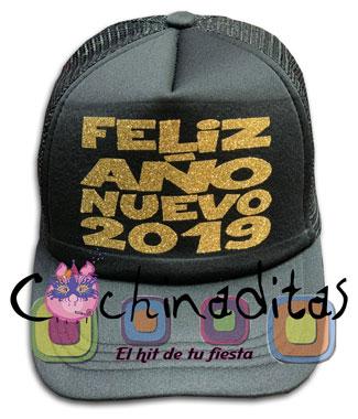 Gorra Feliz Año 2019
