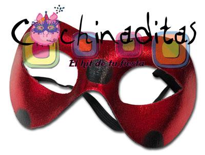 Antifaz LadyBug