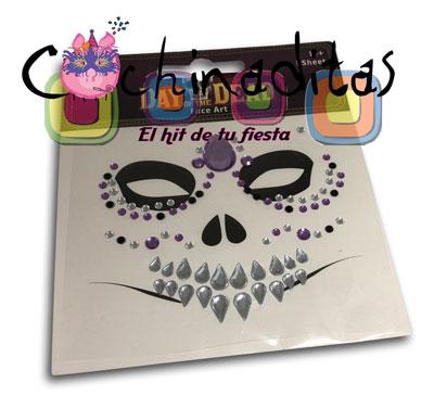 Sticker catrina pedredría
