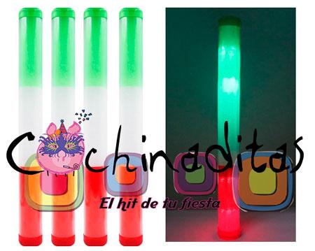 Barra luminosa tricolor