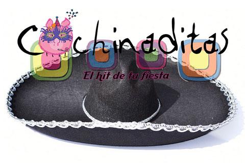 Sombrero charro tela