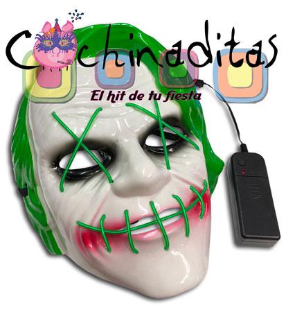 Máscara Jocker luminosa