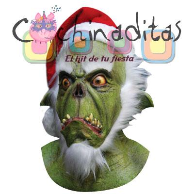 Máscara Látex Green Santa