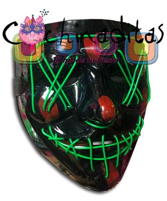 Máscara Purga con luz