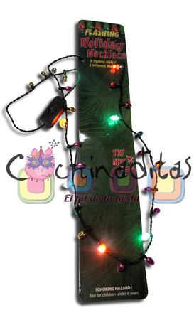 Collar luces navidad