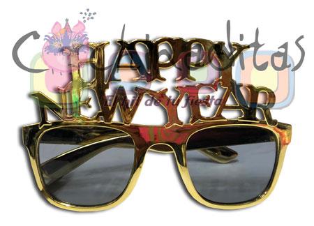 Lente plástico Happy New Year