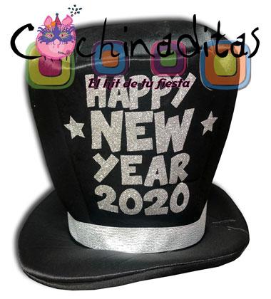 Sombrero Happy New Year 2020