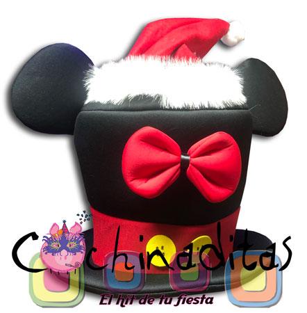 Sombrero Mickey Navidad