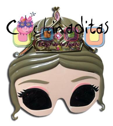Lentes Princesa corona