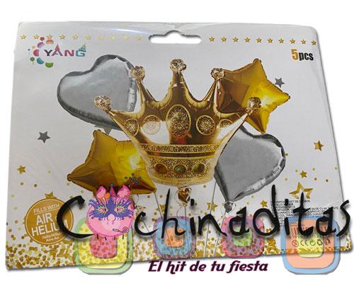 Kit de globos Princesa