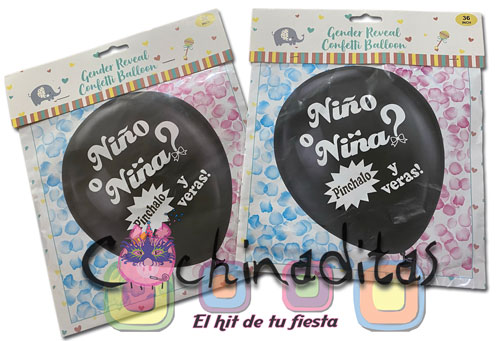 Globos Jumbo Gender Reveal