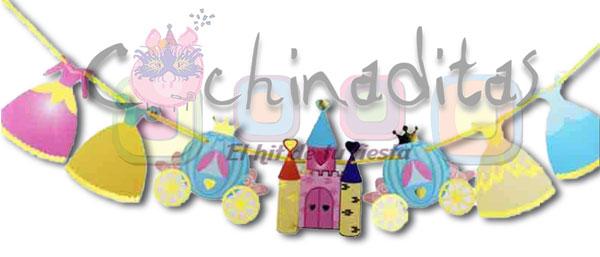 Guirnalda Fiesta Princesas